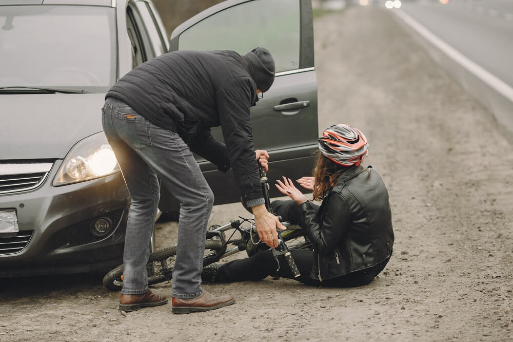 חקירה במשטרה לאחר תאונת דרכים